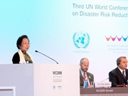 UN conference hears Vietnam know-how in disaster risk reduction