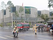 Vietnam makes final preparations for international diplomatic event
