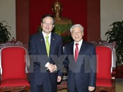 Party chief congratulates RoK on becoming largest investor in Vietnam