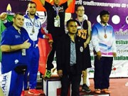 Vietnamese martial artist wins gold at Bangkok tournament
