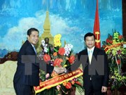 Founding anniversary greetings to Lao party