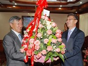 Greetings to Lao People's Revolutionary Party
