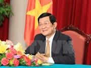 State President leaves Hanoi for Vientiane