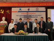 Construction technology new to Vietnam piles on the advantages