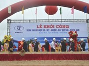 Construction begins on fibre and garment complex in Quang Nam