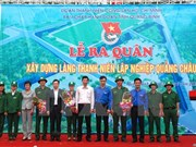 Work begins on youth village in Quang Binh province