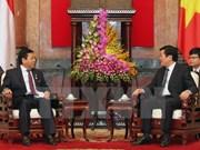 President receives Indonesian legislator
