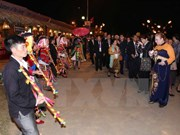 IPU-132: Visitors enjoy cultural welcome