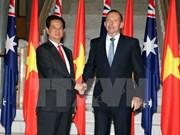 Vietnam, Australia agree to lift ties