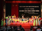 Thanh Hoa ceremony marks 50 years of Ham Rong victory
