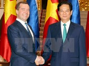 Vietnamese, Russian Prime Ministers hold talks