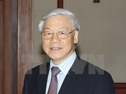 Party chief arrives in Beijing, starting China visit