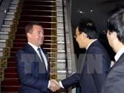 Russian Prime Minister welcomed in HCM City