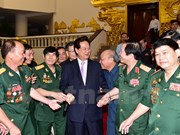 PM meets with Quang Tri ancient citadel veterans