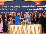 Vietnam, Laos intensify labour and social welfare ties