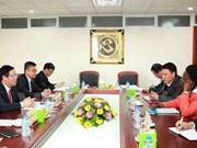 Party Economic Commission Head meets WB official