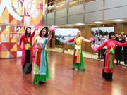 Vietnamese students host cultural event in Russia