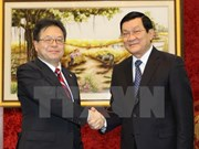 President welcomes Japan's Deputy Chief Cabinet Secretary