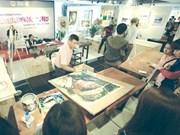 Watercolours paint a picture