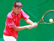 Tennis player Nam closes in on title