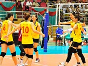 Vietnam in volleyball's Group B at SEA Games