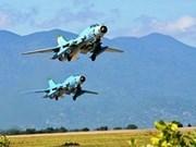 Debris of Su-22 fighter jets found