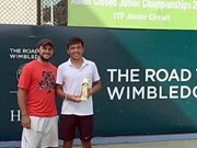 Tennis: Ly Hoang Nam wins double titles in India