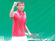 Tennis: Nam rises to 14th place in world youth ranking