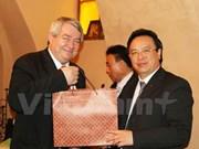 Party's external relation commission delegation visits Czech Republic