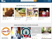 Restaurant webpage launched in Hanoi