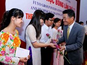 80 outstanding students presented with Japan's scholarships