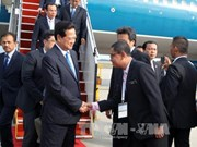PM arrives in Kuala Lumpur for 26th ASEAN Summit