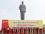 Statue of late Party chief inaugurated in Hung Yen