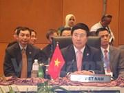 Vietnam FM attends preparatory meetings at 26th ASEAN Summit