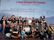 Indonesian choir wins Hoi An Choir Prize 2015
