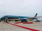A350 plane makes maiden Hanoi-HCM City voyage