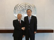 Party chief thanks UN for support to Vietnam