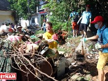 """Keep Hanoi Clean"" green up capital city"
