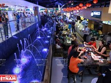 Bustling underground market in Ho Chi Minh City