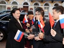 NA Chairwoman's activities in Saint Petersburg