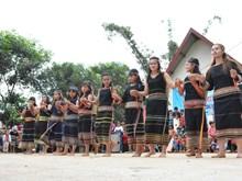 New Rice ceremony of the Xe Dang in Dak Lak