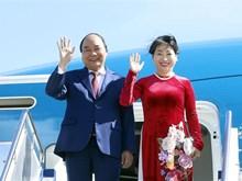 Prime Minister Nguyen Xuan Phuc arrives in Australia