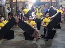 Thai ethnic people's ritual re-enacted