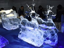 Ice cafe helps Hanoians escape from severe heat