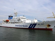 Japan Coast Guard ship starts Vietnam visit