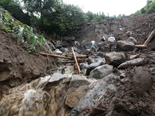 Casualties, missing victims from landslides in Lai Chau amount to 15