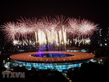 Asian Games 2018's opening ceremony: A splendid light, music feast
