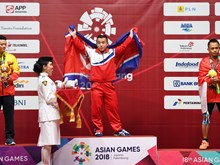 ASIAD 18: Vietnam wins first silver, ranking 16th in medal tally