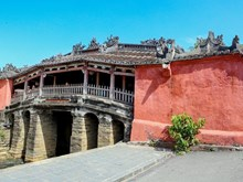 Japanese ancient architecture in Hoi An town
