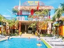 Container hostel fascinates visitors